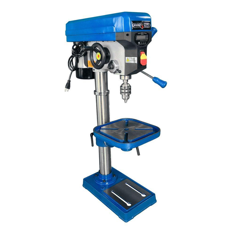 Steel City 13 in. Variable Speed Drill Press