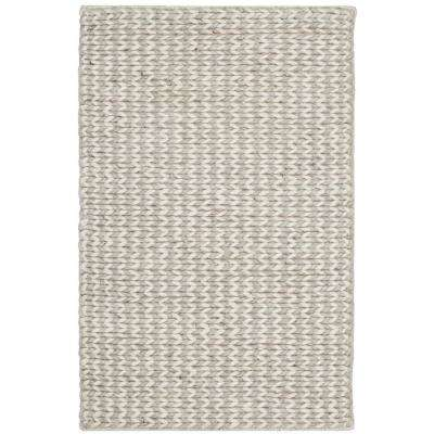Natura Ivory/Silver 2 ft. x 3 ft. Area Rug