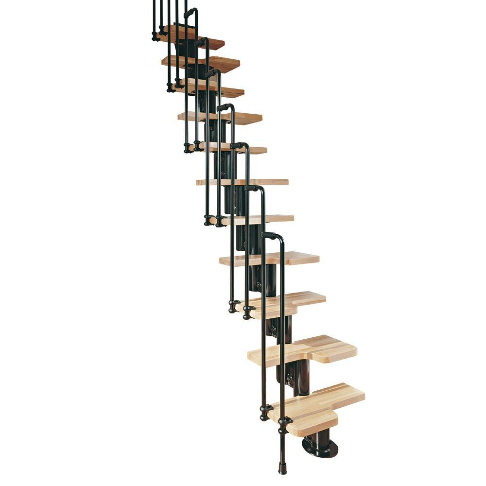 Karina Black Modular Staircase Kit