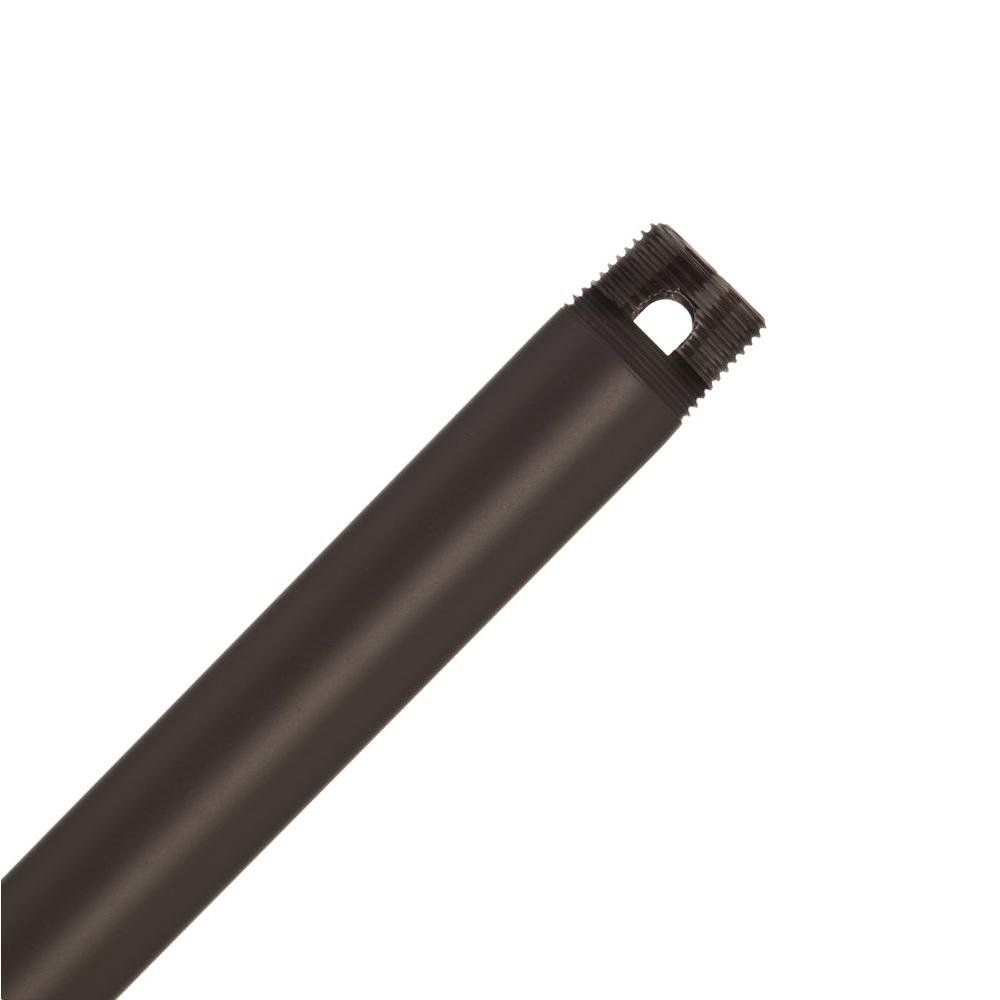 Perma Lock 12 in. Onyx Bengal Bronze Extension Downrod for 10