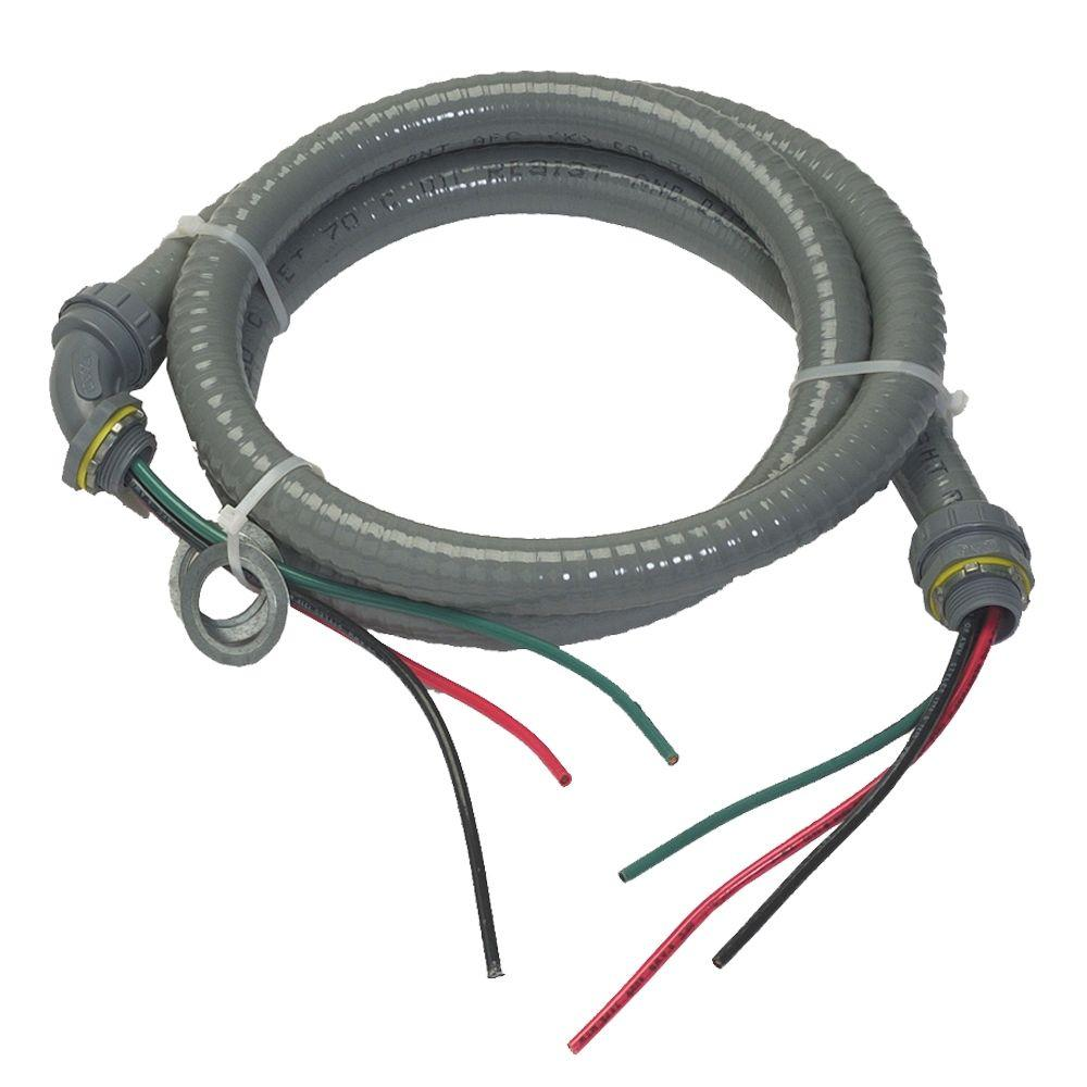 Afc Cable Systems 3 4 X 6 Ft Liquidtight Whip 8017 Hd