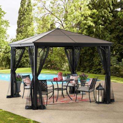 10x10 Gazebos Shade Structures The Home Depot