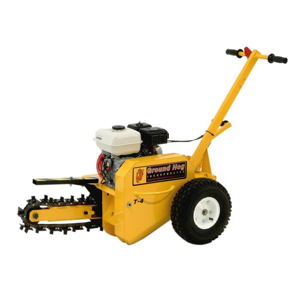 18 in. 5.5-HP 160cc Gas Walk-Behind Trencher