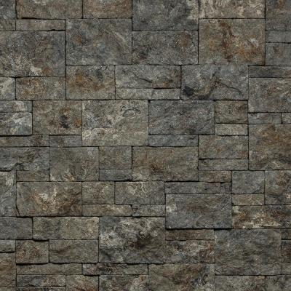 Georgetown Run Morning Aspen Non-Rated Flat Stone Veneer (14.25 sq. ft. per Box)