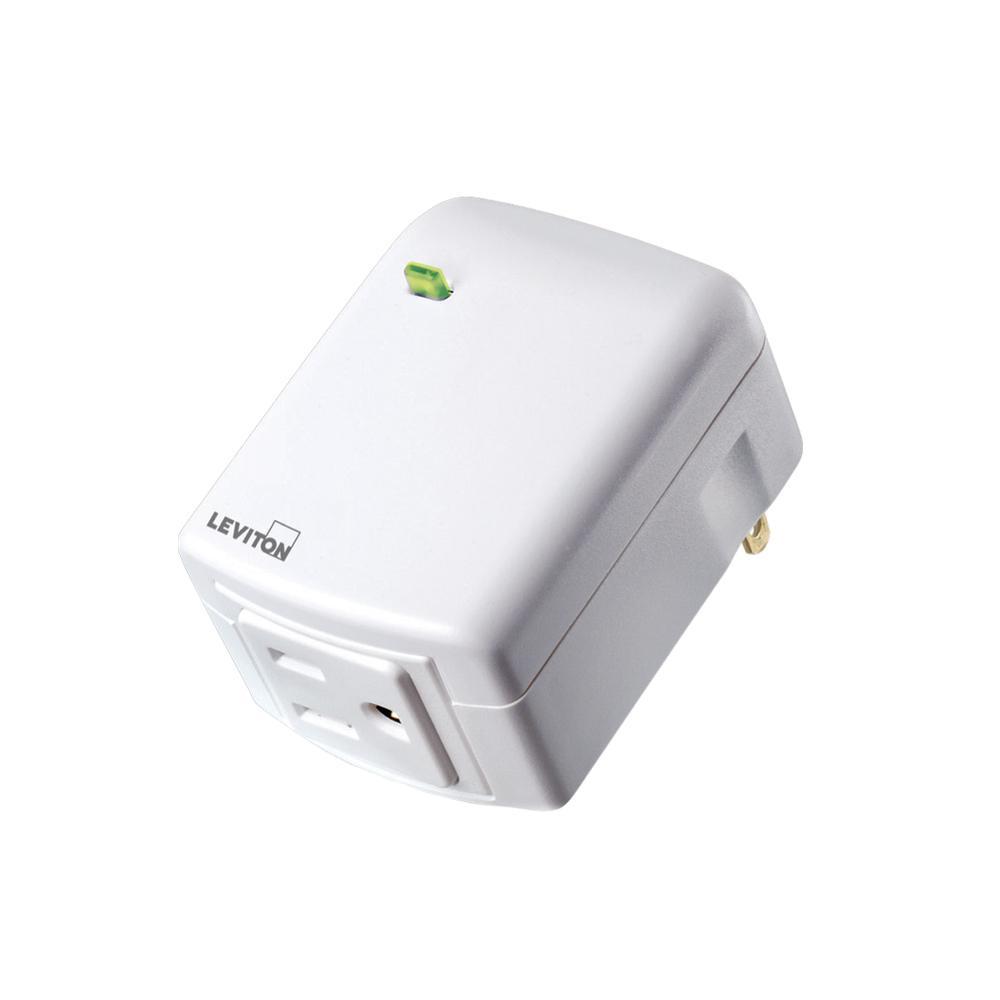 Decora Smart Plug-In Single Outlet, Zigbee Certified