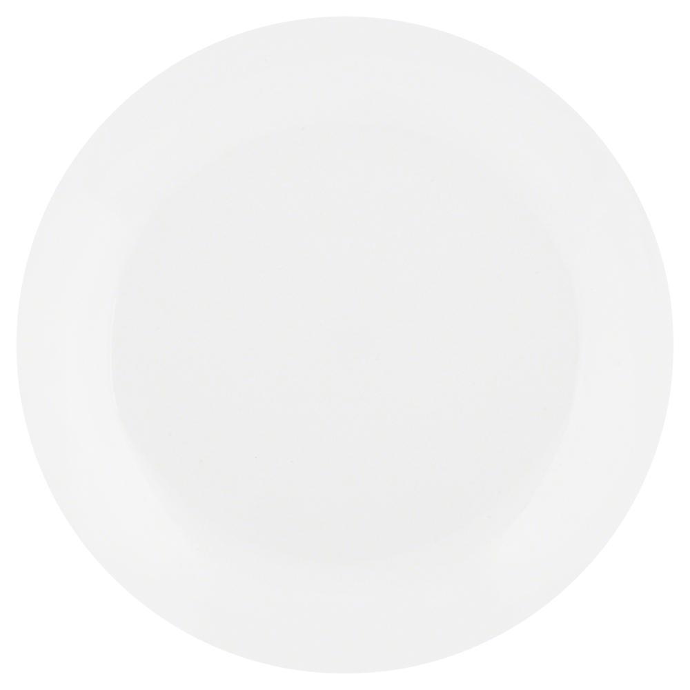 Winter Frost White Dinner Plate Lightweight Kitchen Serveware 6 Set 10.25 in NEW  sc 1 st  eBay & Winter Frost White Dinner Plate Lightweight Kitchen Serveware 6 Set ...