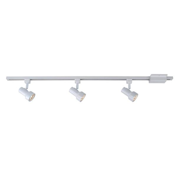 Mini-Step 44 in. 3-Light White Linear Track Lighting Kit