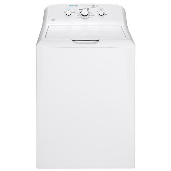 GE Appliances GTW465ASNWW 4.5 cu. ft. 27 Inch Top Load Washer White