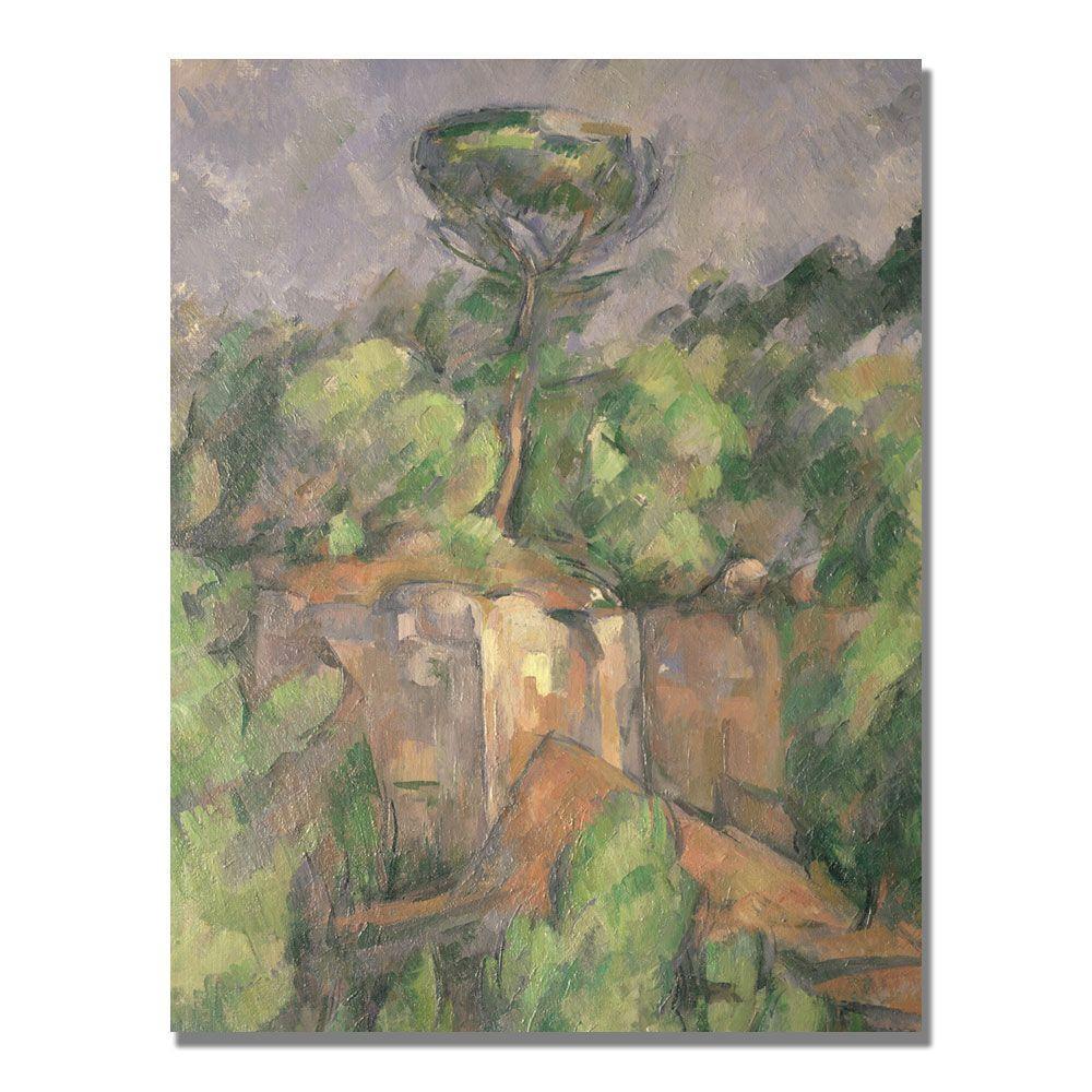 Trademark Fine Art 24 in. x 32 in. Bibemus Quarry Canvas