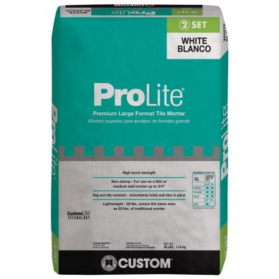 ProLite 30 lbs. White Tile and Stone Mortar