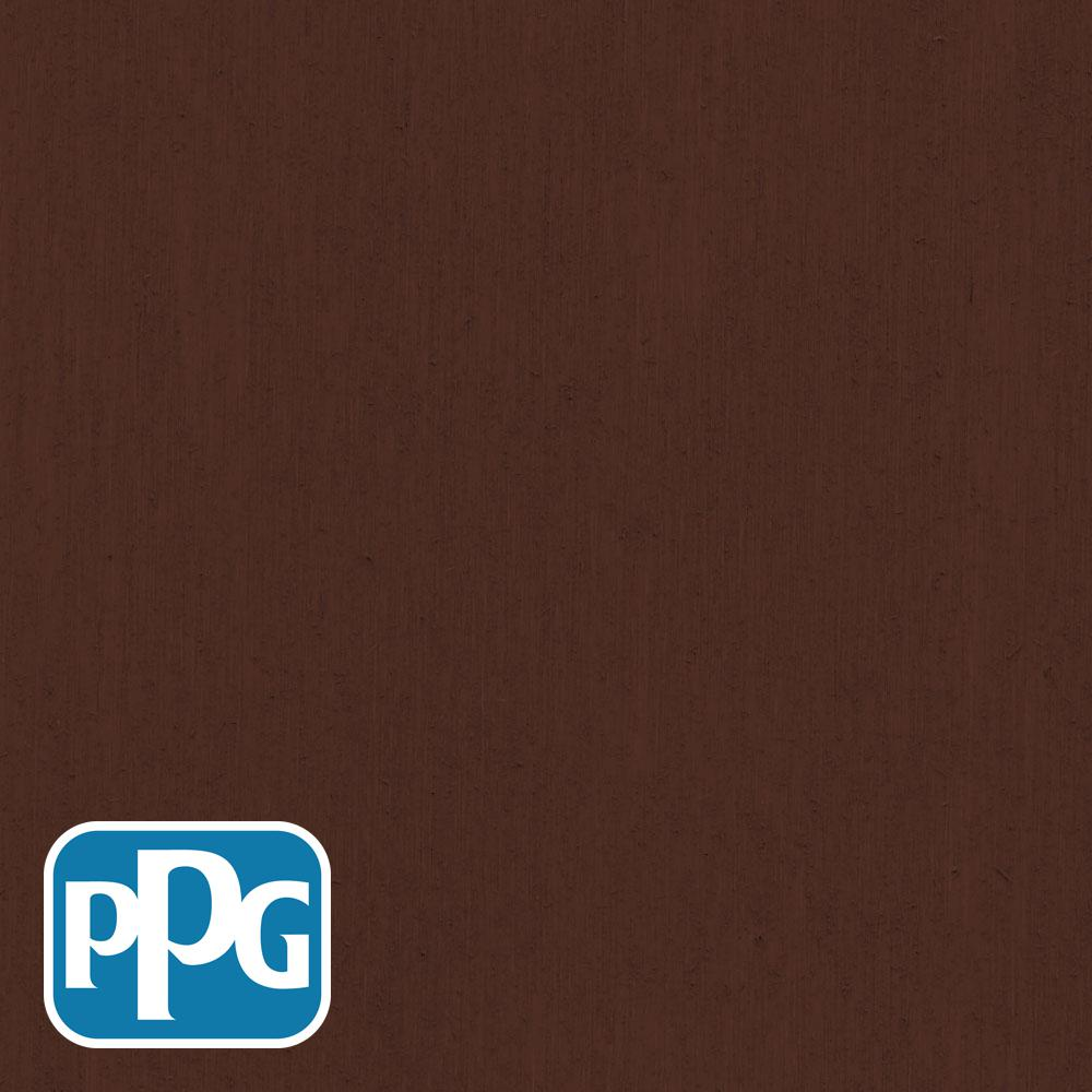PPG TIMELESS 1 gal. TSN-10 Mahogany Satin Semi-Transparent Advanced Oil Exterior Wood Stain