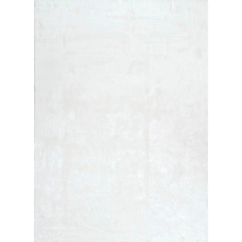 Nuloom Cloud Faux Sheepskin Plush Shag Ivory 8 Ft X 10 Ft Area Rug Bibl15a 76096 The Home Depot