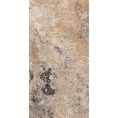 Trav Chiseled Onyx 8 in. x 16 in. Travertine Floor and Wall Tile