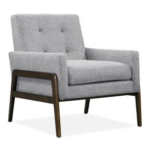 Lille Light Grey Lounge Chair