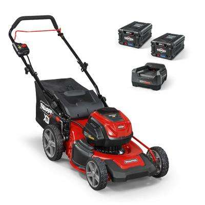 XD 19 in. 82-Volt Lithium-Ion Electric Cordless Walk Behind Push Mower - Two 2.0 Ah Batteries/Charger Included
