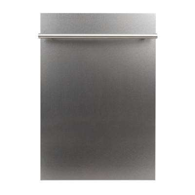 18 in. Top Control Dishwasher in Snow Finished Stainless Steel with Stainless Steel Tub