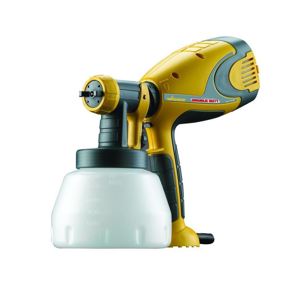 Delightful Wagner 0518050 Control Spray Double Duty Paint Sprayer Part - 2: Wagner Control Spray Double Duty HVLP Sprayer