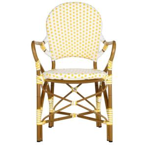 hooper yellow patio dining chair 2pack