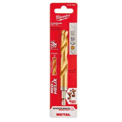 Twist drill bits drill bits the home depot shockwave 12 in titanium drill bit greentooth