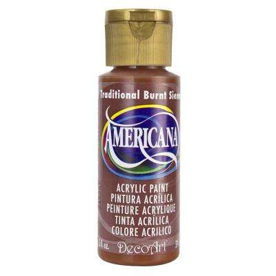 Americana 2 oz. Traditional Burnt Sienna Acrylic Paint