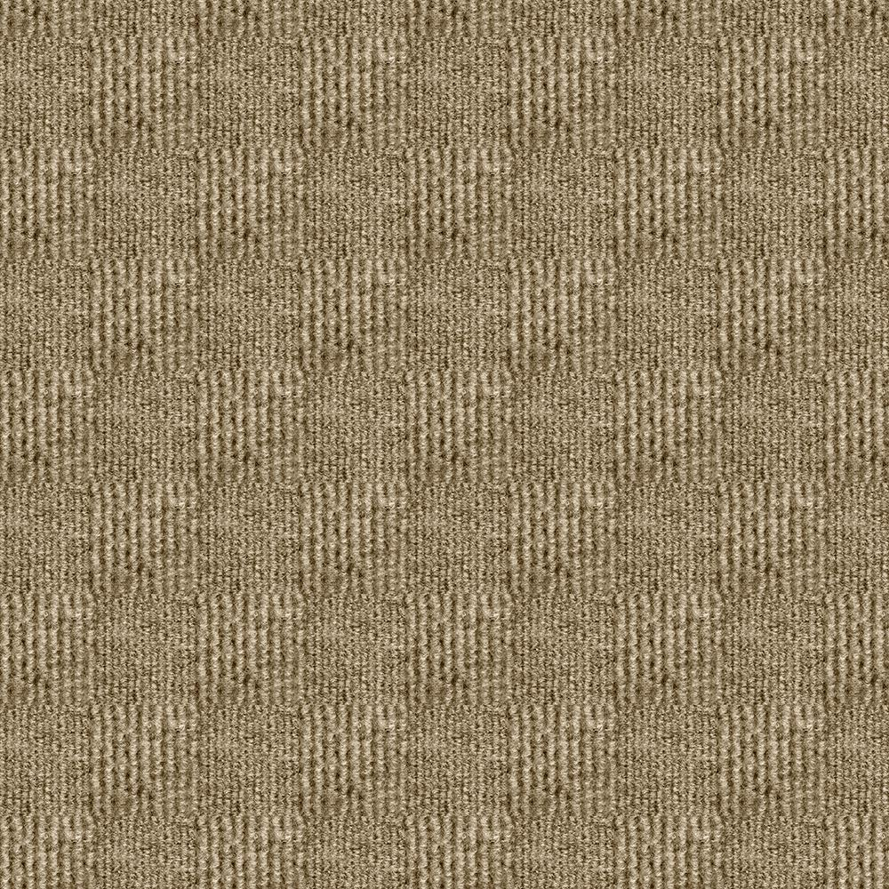 Sophisticated Taupe Pattern 18 in. x 18 in. Carpet Tile (16