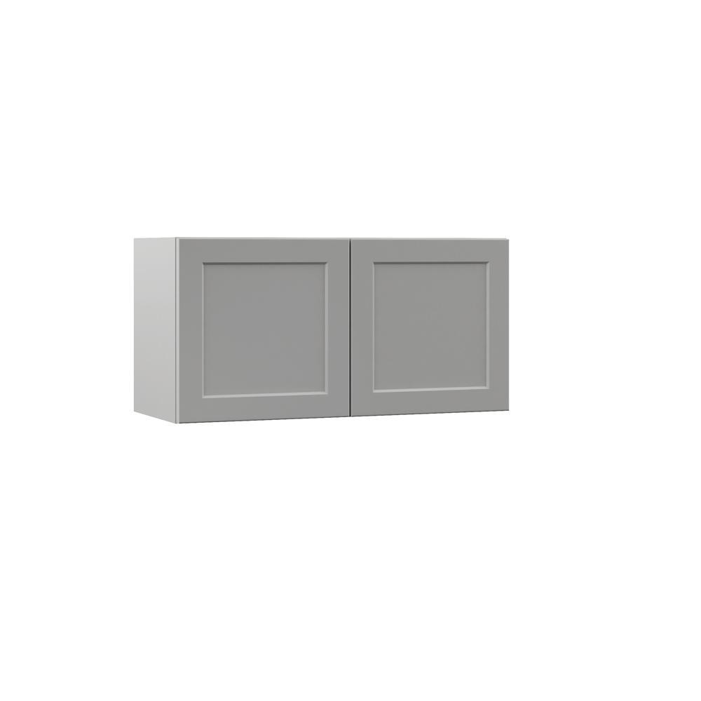 Hampton Bay Designer Series Melvern Assembled 30x15x12 In Wall