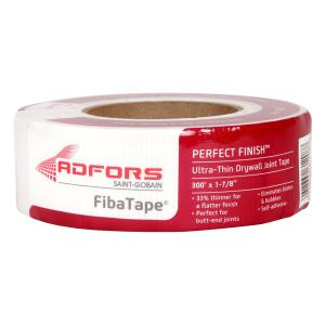 Saint-Gobain ADFORS Perfect Finish 300 ft. Self-Adhesive Mesh Drywall Joint Tape... from Joint Compound