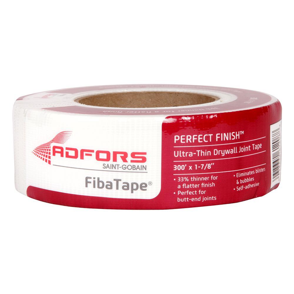 2 Rolls of FibaTape Self-Adhesive Drywall Joint Tape White FDW8724-U