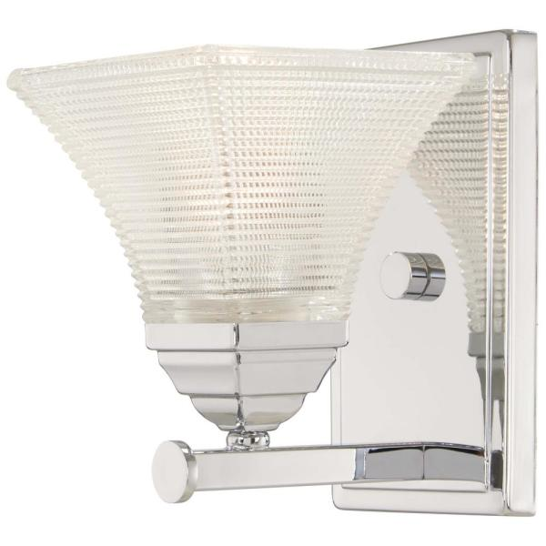 Conspire 1-Light Chrome Bath Light