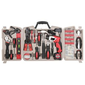 Box Cutter Ladies Tool Set Level /& More 52 Piece Pink Tool Kit Screwdriver Set Tape Measure Includes Hammer Pliers Wrench