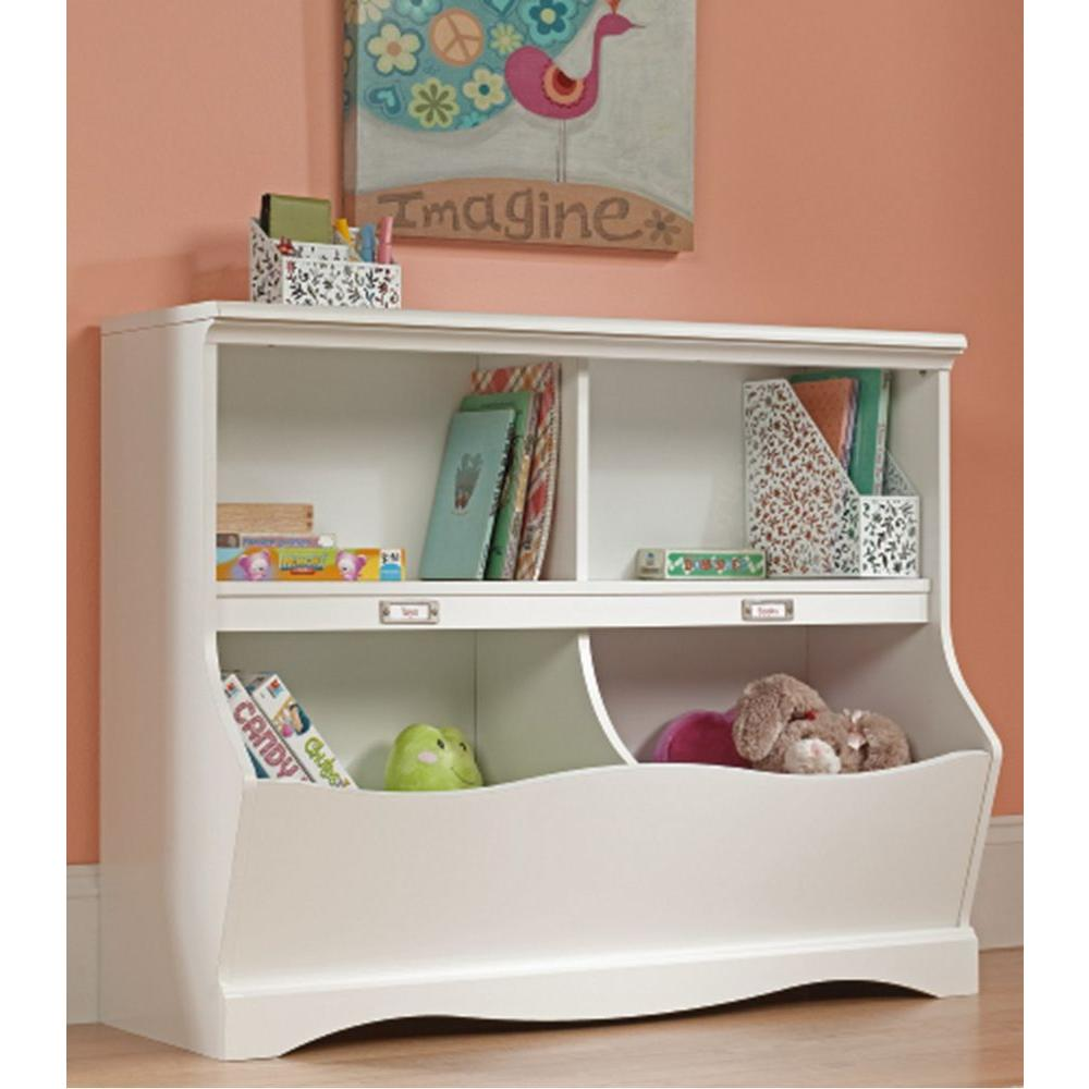 Pogo Soft White Twin Kids Footboard