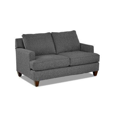 Paxton Loveseat in Charcoal