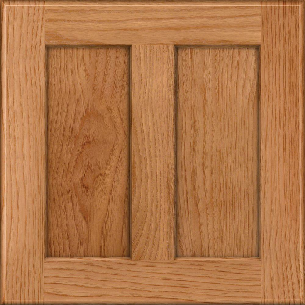 Kraftmaid 15x15 In Cabinet Door Sample Hamilton Hickory