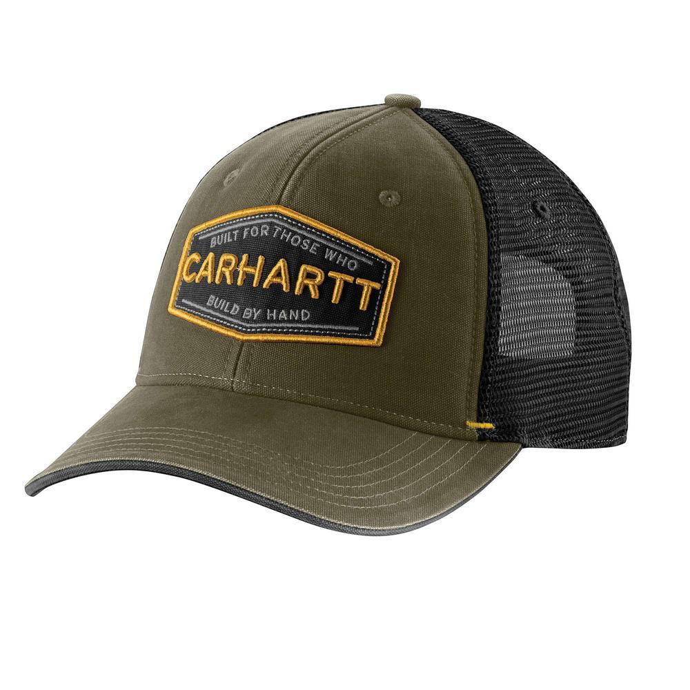 82b9f7dc ... a36ef6acac3 Carhartt Men s OFA Army Green Cotton Silvermine Cap Hat  Liner-103065 . ...