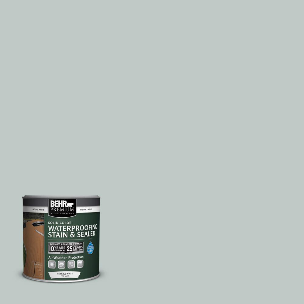 Behr premium 8 oz sc365 cape cod gray solid color - Interior wood stain colors home depot ...