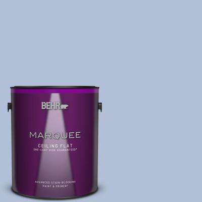 1 gal. #MQ5-45 Movie Magic One-Coat Hide Ceiling Flat Interior Paint and Primer in One