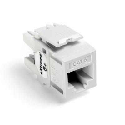 Leviton f-con snap in keystone style jack ivory box of 50