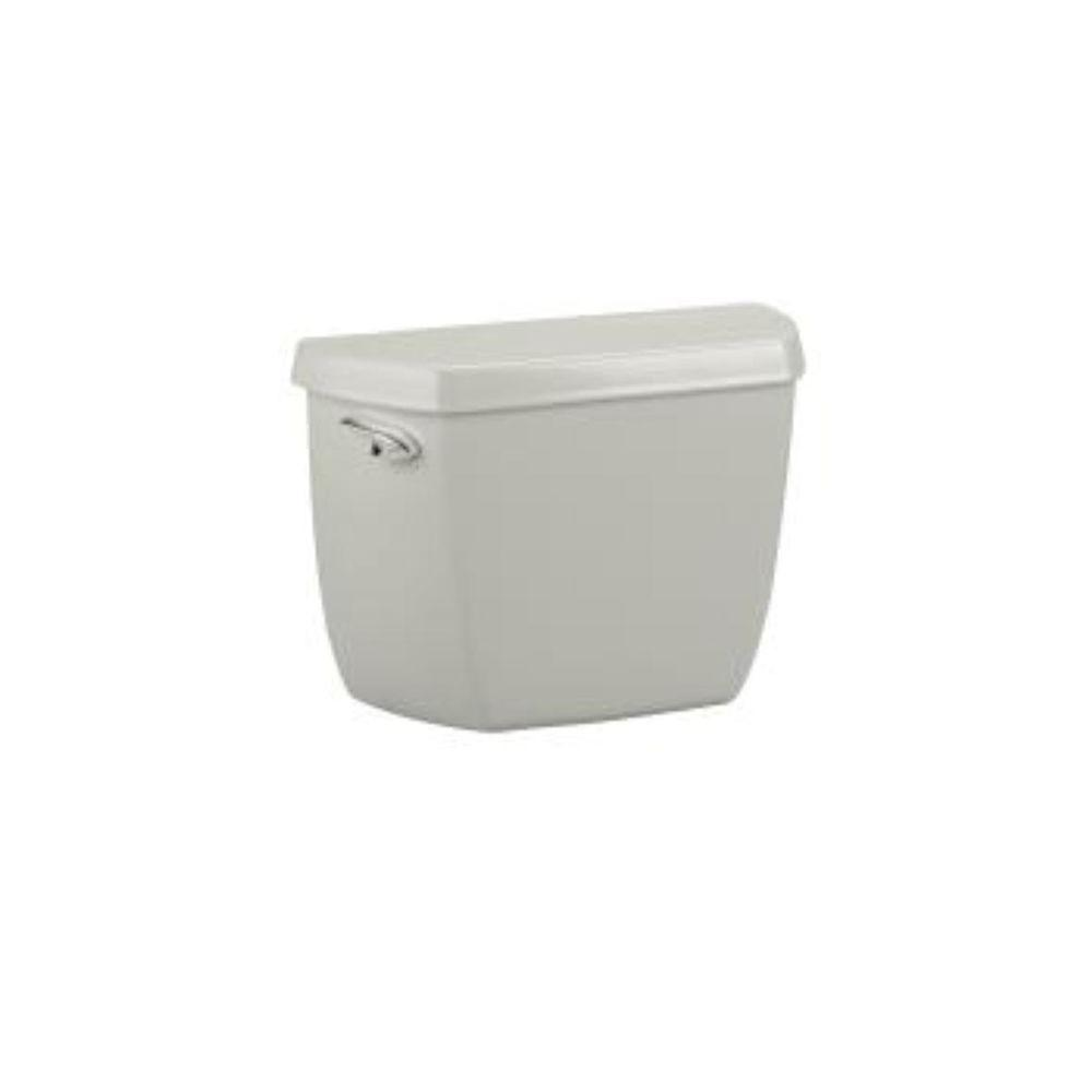 KOHLER Wellworth Classic 1.6 GPF Toilet Tank Only with Locks in Ice Grey-DISCONTINUED