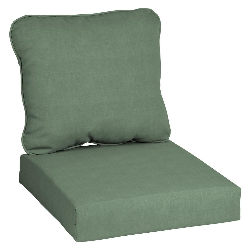 24 in. x 22 in. CushionGuard Surplus Deep Seating Outdoor Lounge Chair Cushion
