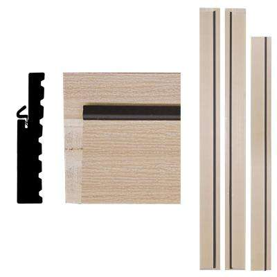 4Ever Frame 1-1/4 in. x 6-9/16 in. x 83 in. Primed Woodgrain Composite Patio Door Frame Kit