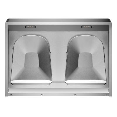 Pixie Air Slim Line 30 in. Convertible Under the Cabinet Range Hood in Stainless Steel with Capture-Shield Technology