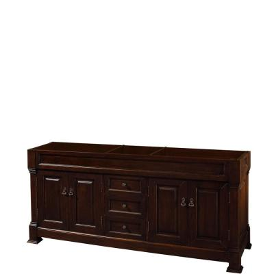 Andover 72 in. W x 22.25 in. D Bath Vanity Cabinet Only in Dark Cherry