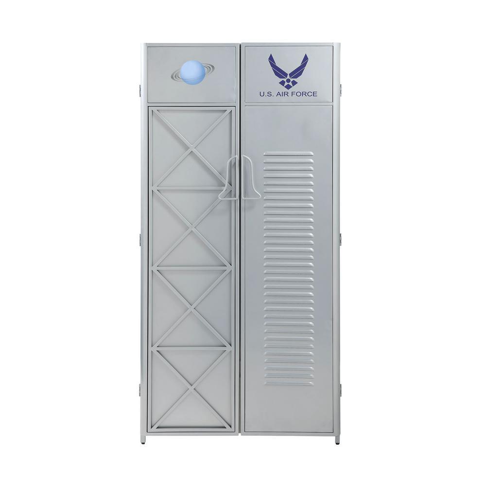 Aeronautic Silver Wardrobe