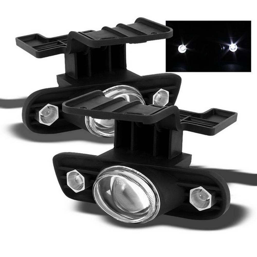 Chevy Silverado 99-02 / Chevy Suburban 00-06 Projector Fog Lights w/Switch - Clear