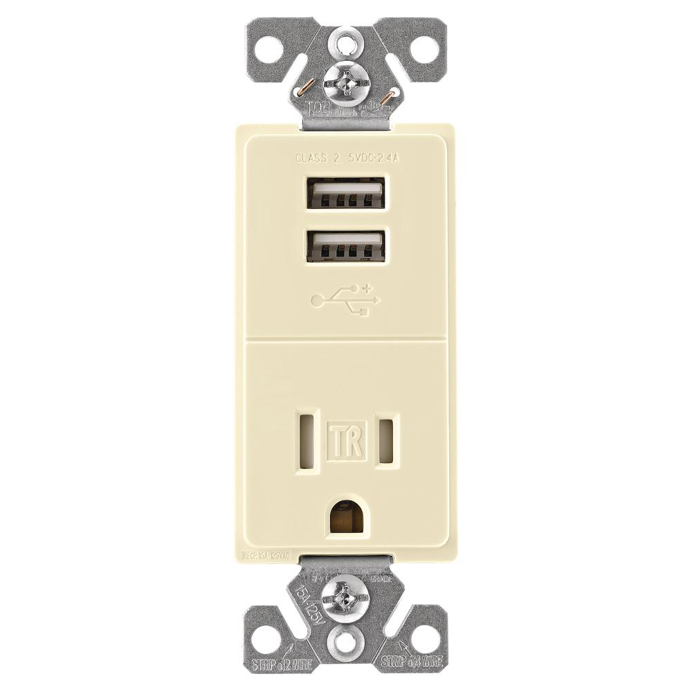 Black - Electrical Outlets & Receptacles - Wiring Devices & Light ...