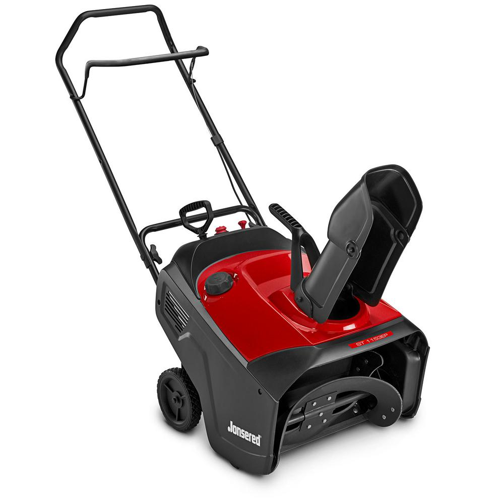 Jonsered ST115EP 21 in. 179cc Single-Stage Electric Start Gas Snow Blower