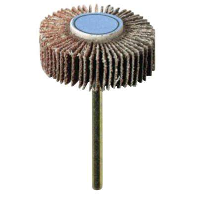3/8 in. 120-Grit Rotary Sanding Flapwheel for Wood, Rubber, Platic, and Metal