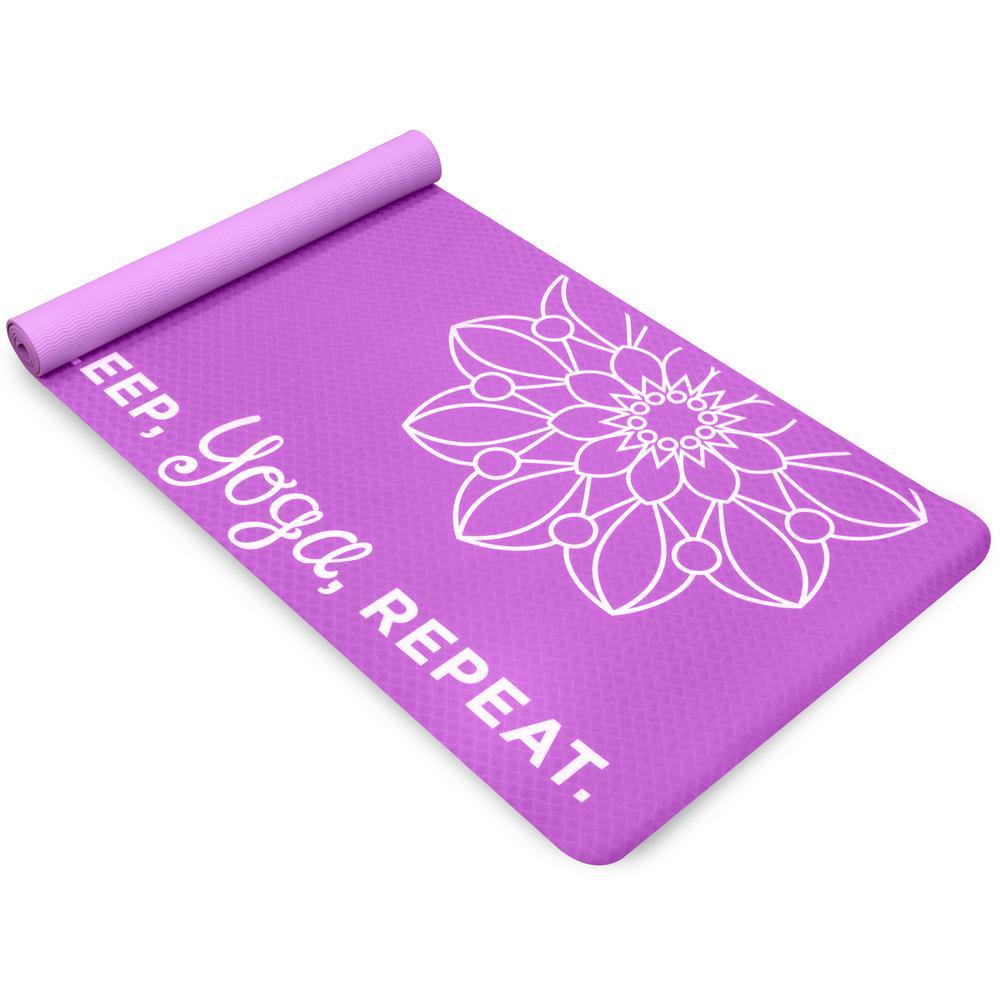 Life Energy EkoSmart 4 mm Teal Yoga Mat - Yoga Repeat