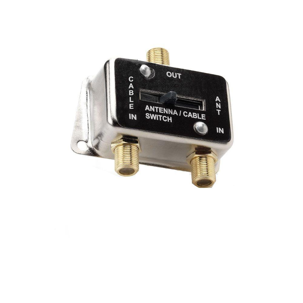 commercial electric coaxial a  b switch-a  b switch