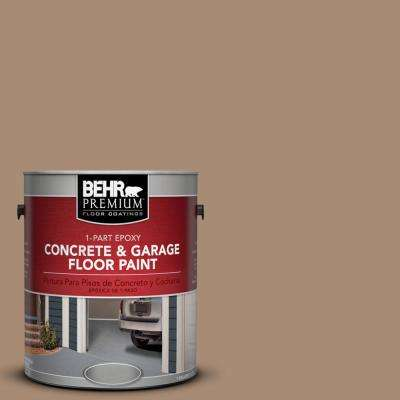 1 gal. #N240-5 Rodeo Tan 1-Part Epoxy Concrete and Garage Floor Paint